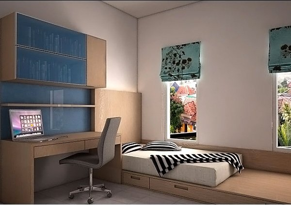 Storage ideas for small teenage bedrooms