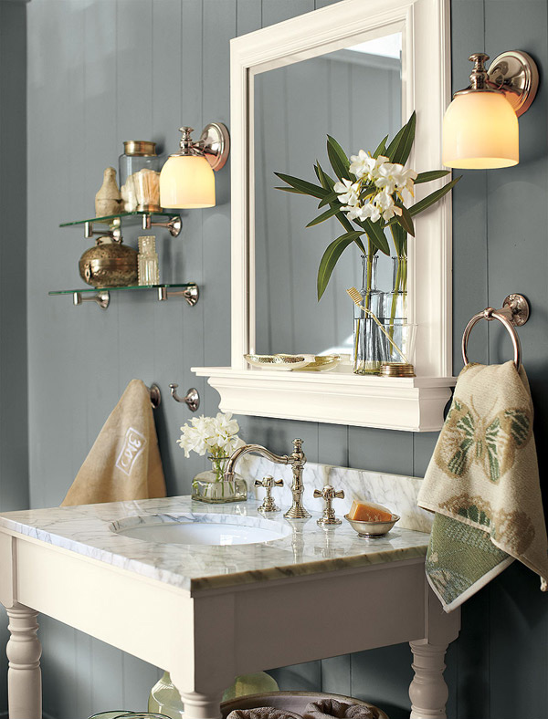 A look at 15 sophisticated gray bathroom designs home for Bathroom decor 2012