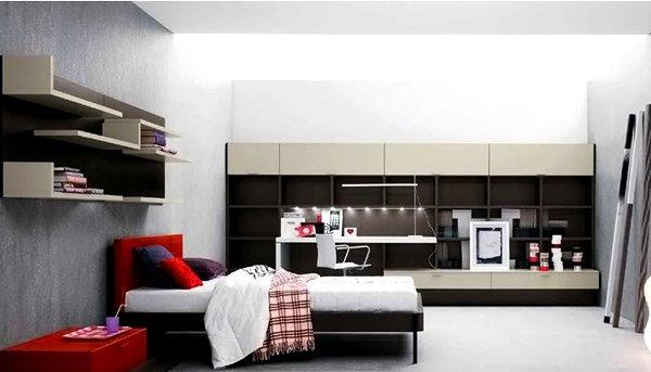 Teenag Bedroom Composition