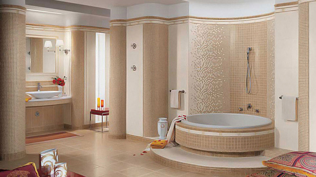 16 beige and cream bathroom design ideas home design lover - Bathroom Ideas Brown Cream