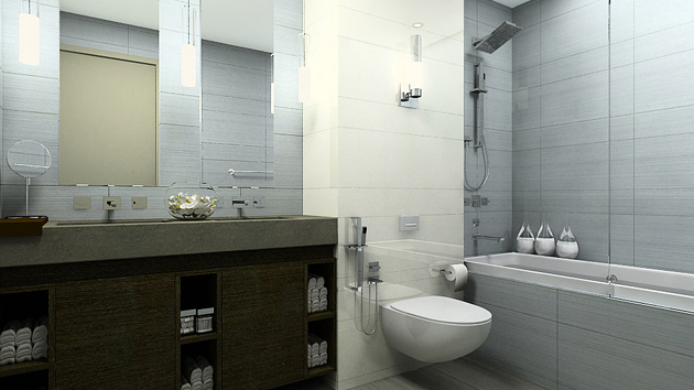 A Look at 15 Sophisticated Gray Bathroom Designs | Home