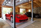 a house garage luxury