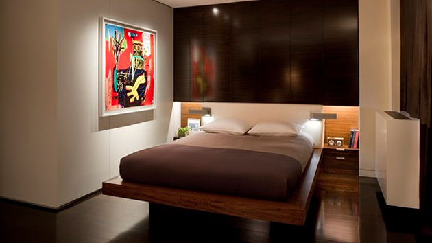 20 modern contemporary masculine bedrooms home design lover for Manly bedroom decor