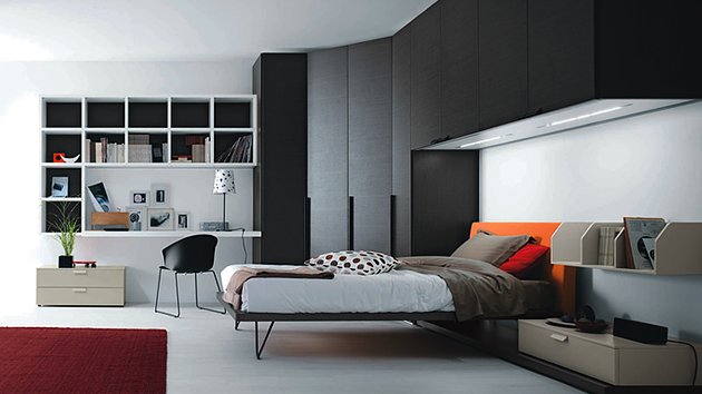 20 teenage boys bedroom designs home design lover for Guys bedroom ideas