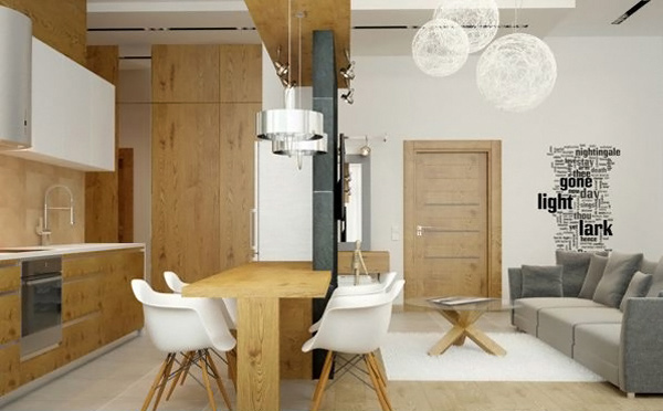 An Apartment In Eco Style