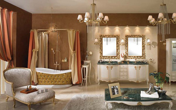 20 Luxurious And Comfortable Classic Bathroom Designs Home Design Lover