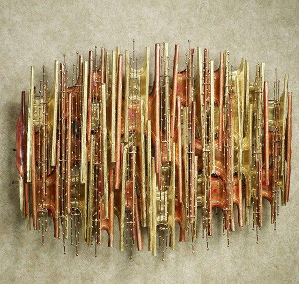 Turbulence Metal Wall Sculpture