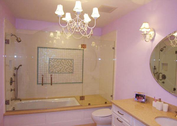 Purple Children Bathroom