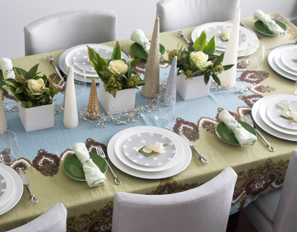 20 Christmas Table Setting Design Ideas