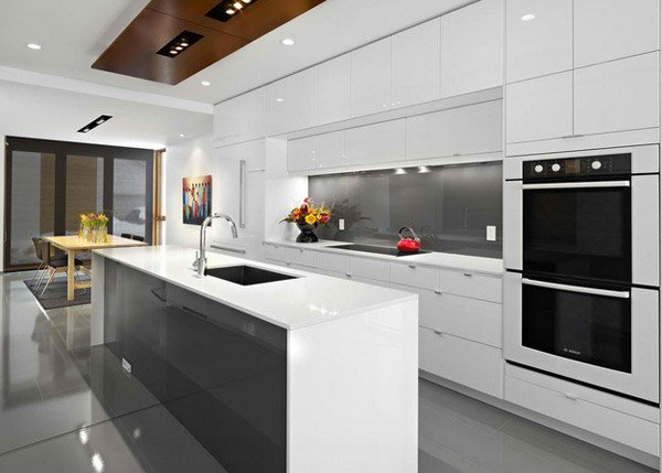 15 Simple and Minimalist Kitchen Space Designs | Home Design Lover