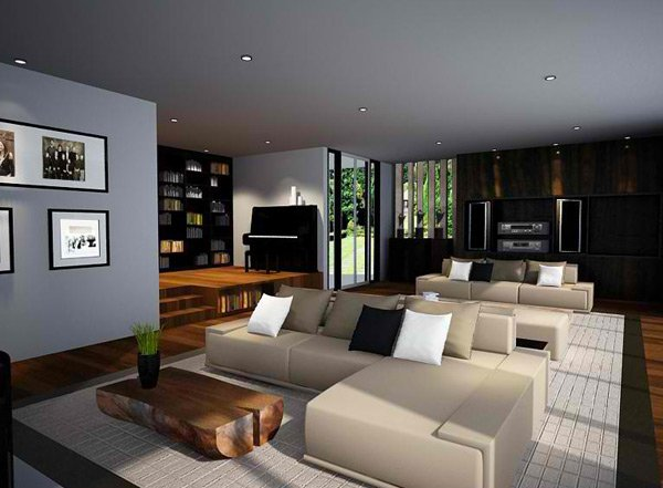 15 zen inspired living room design ideas home design lover Zen room colors