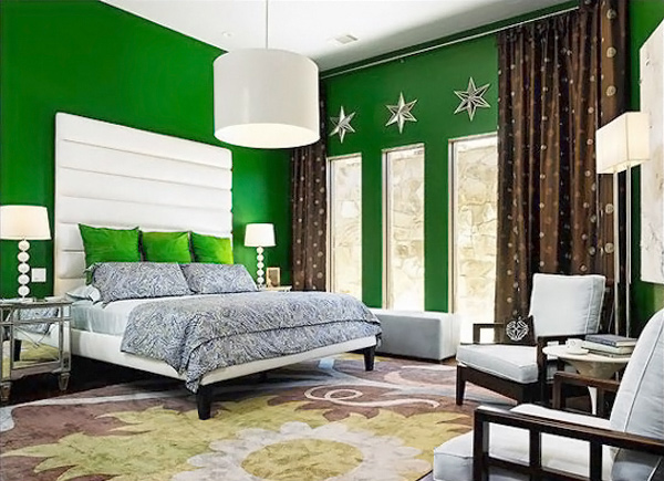 Exceptionnel Green Bedroom Designs