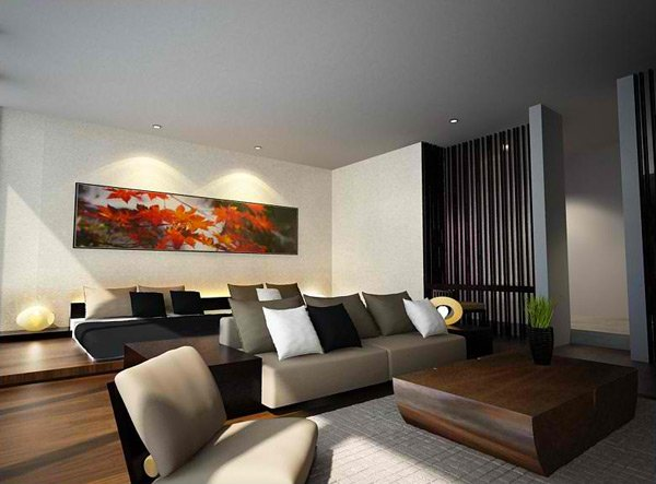 zen-inspired living rooms