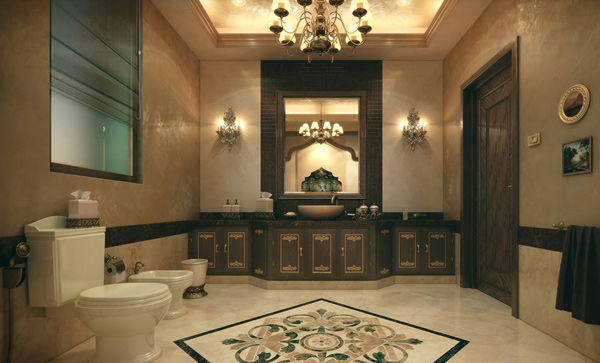 Superb Impressive Classic Bathroom Awesome Ideas