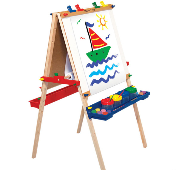 simple art easel