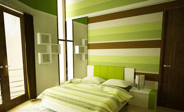 Amazing Green Bedroom Designs