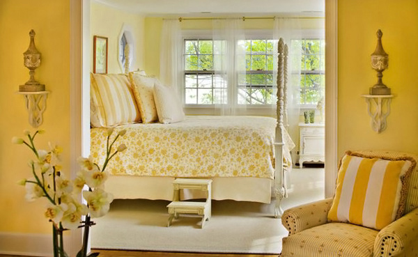Bedroom Design Ideas Yellow 15 zesty yellow bedroom designs | home design lover