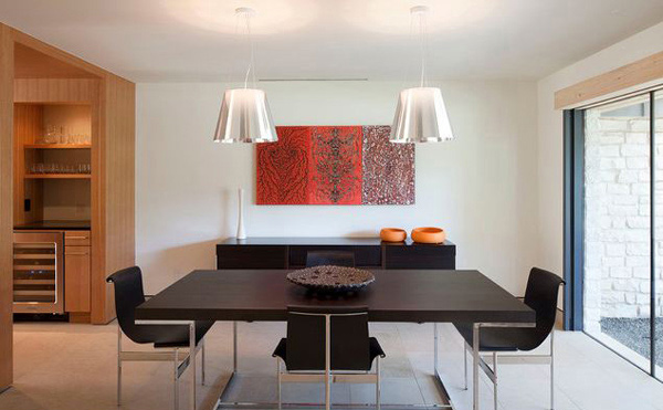 15 Modern Minimalist Dining Room Designs