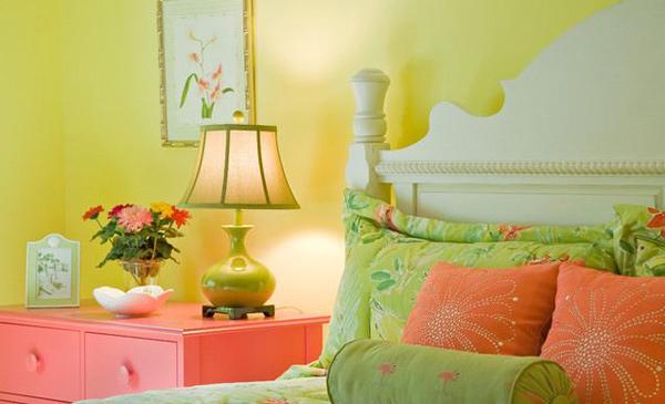 Yellow Bedroom Designs