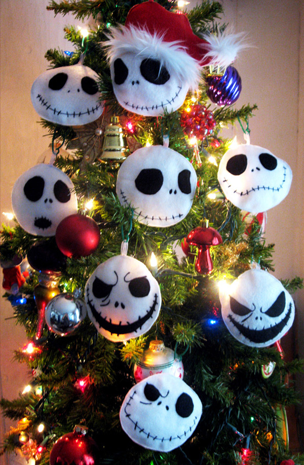 plush jack - Jack Skellington Christmas Decorations