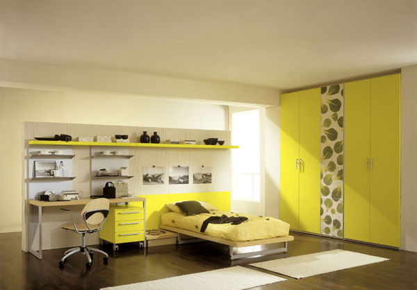 Attirant Green Bedroom