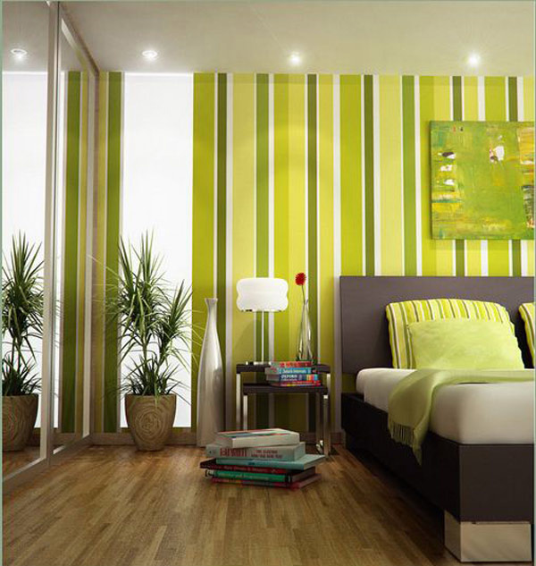 15 Refreshing Green Bedroom Designs
