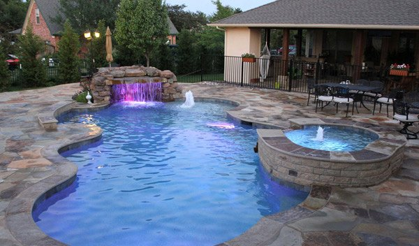 Cranbury Pool Builder | Luxury Pools NJ | Swimming Pool Photos