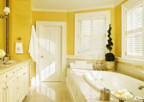 Bathroom Ideas Yellow Tile Of 15 Charming Yellow Bathroom Design Ideas Home Design Lover