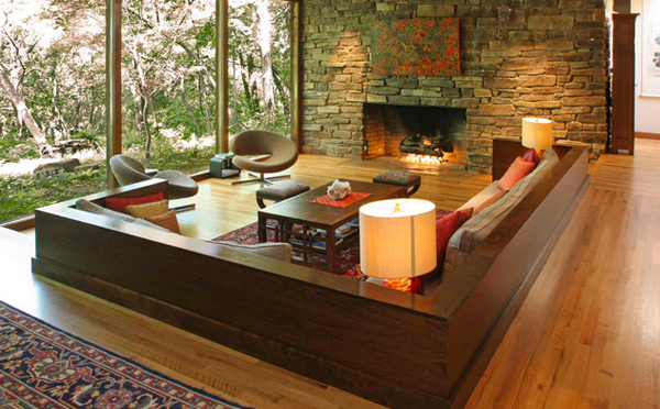 interior design : zen-style-living-room - designwebi.com