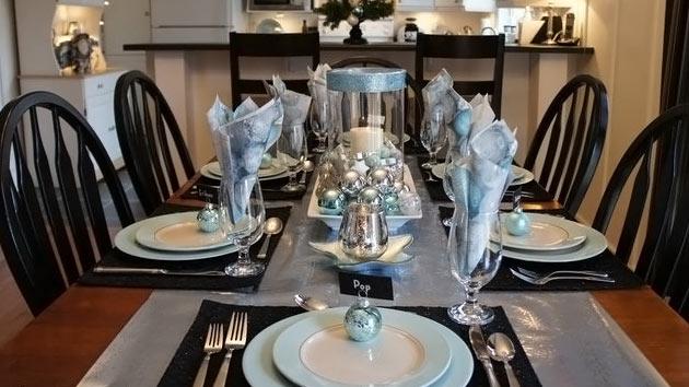 & 20 Christmas Table Setting Design Ideas | Home Design Lover