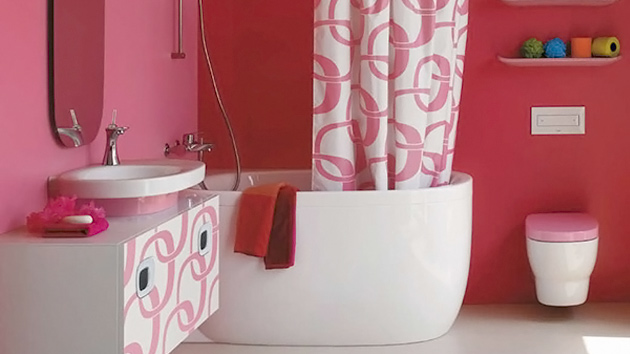 Bathroom Decor Ideas Pink 15 chic and pretty pink bathroom designs | home design lover