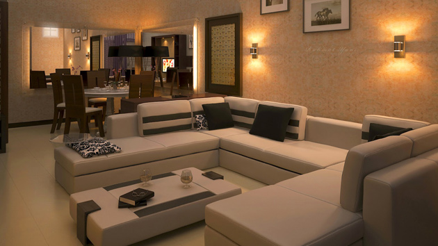15 zen inspired living room design ideas home design lover for Modern apartment living room decor