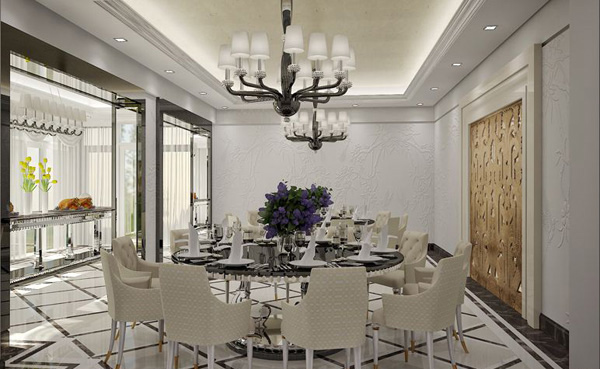 20 Elegant White Dining Room Designs