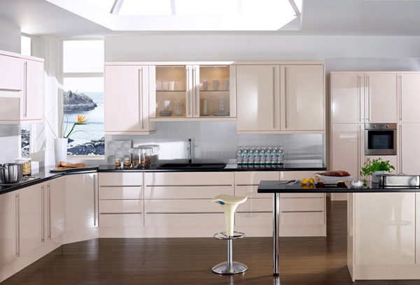 15 Earth Toned High Gloss Kitchen Designs Home Design Lover
