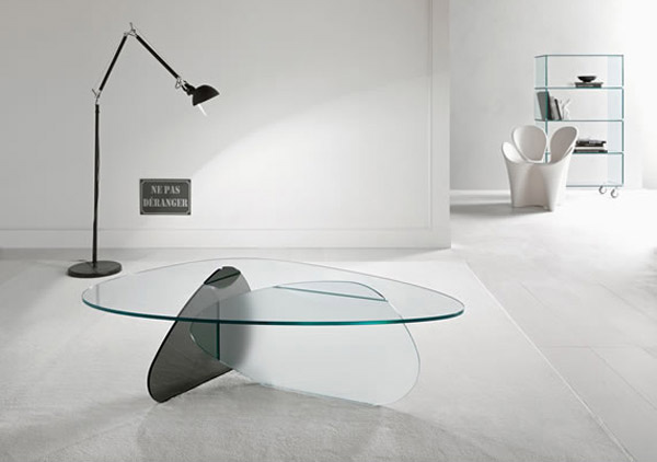 curve Center Tables