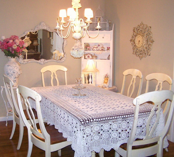50 Cool And Creative Shabby Chic Dining Rooms: 15 Pretty And Charming Shabby Chic Dining Rooms