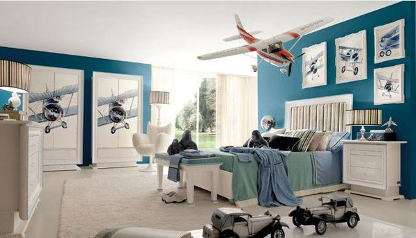 Aviation Themed Bedroom