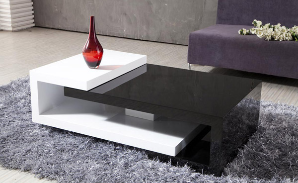 Genial Sleek Wood Table