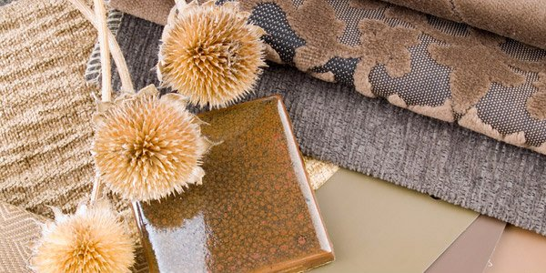 Place natural fabrics