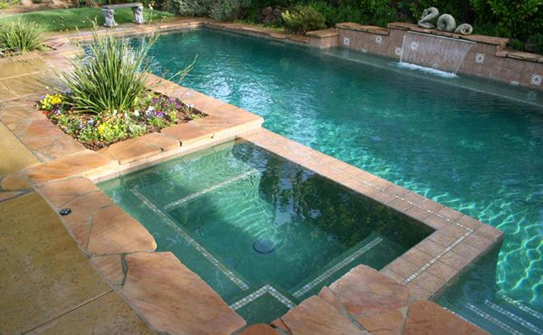 15 Fabulous Swimming Pool With Spa Designs Home Design Lover