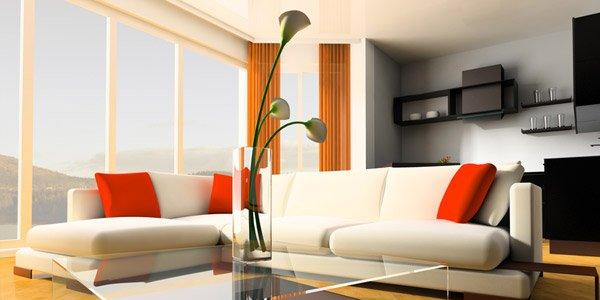 Use simple furniture