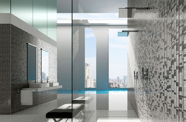 Incroyable Grey Bath