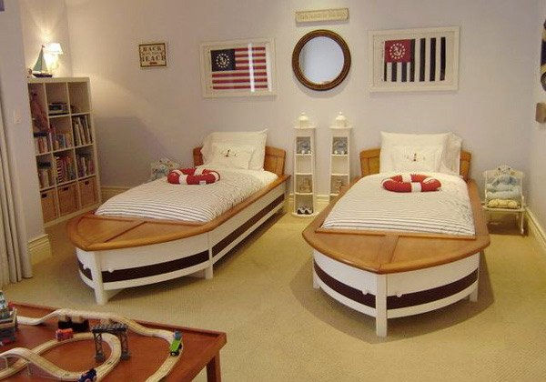 Nautical Children Room
