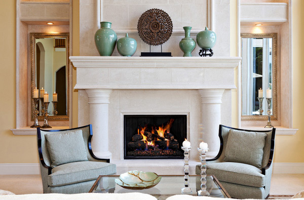 living room with fireplace decorating ideas 15 traditional mantel designs home design lover 24622