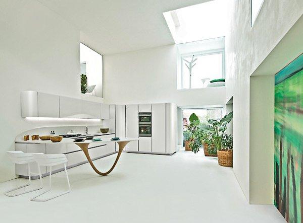 futuristic modern lines