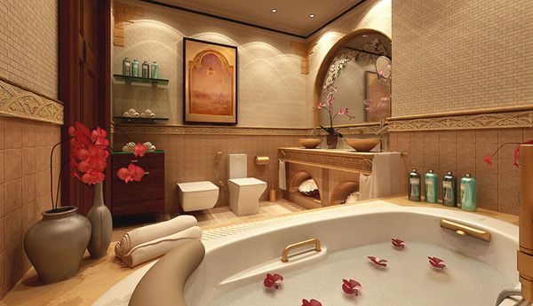 Bathroom Interior Design Tips And Ideas ~ Ultimate luxurious romantic bathroom designs home