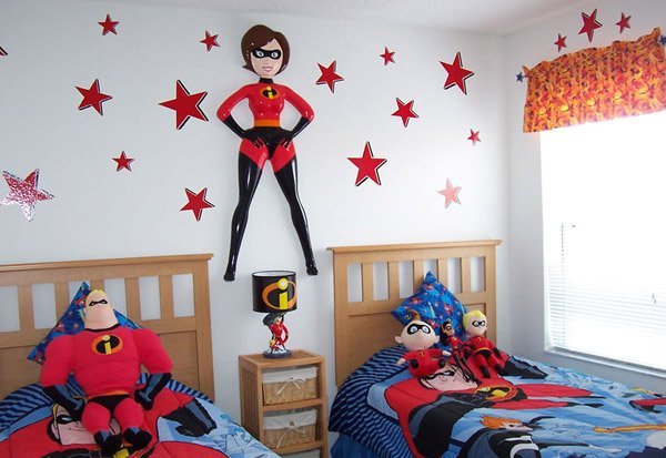 The Incredibles Theme Bedroom