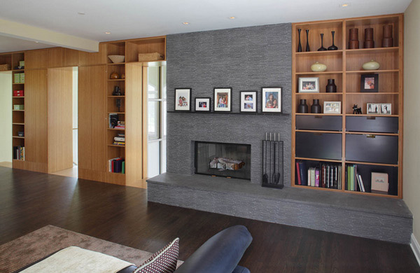 Modern Custom Fireplaces