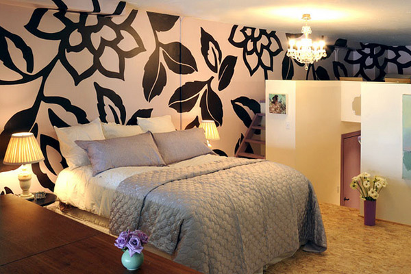 48 Wonderfully Designed Mural Wallpapers In The Bedroom Home Inspiration Wallpaper Designs For Bedrooms