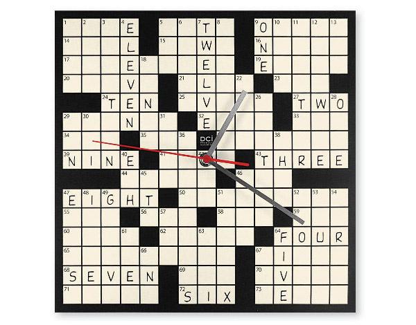 Word Puzzle clock
